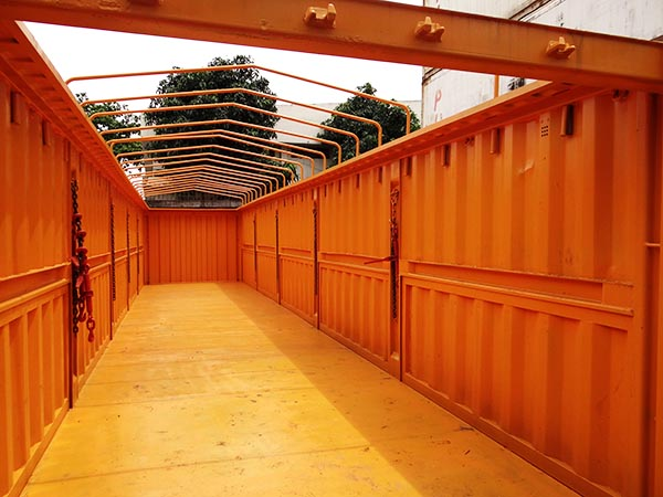 Container 40 feet Half Hight Open Top | HapperContainer - CÔNG TY